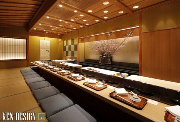 tu van thiet ke noi that nha hang nhat ban truyen thong 4 - Tư vấn thiết kế nội thất nhà hàng Nhật Bản truyền thống