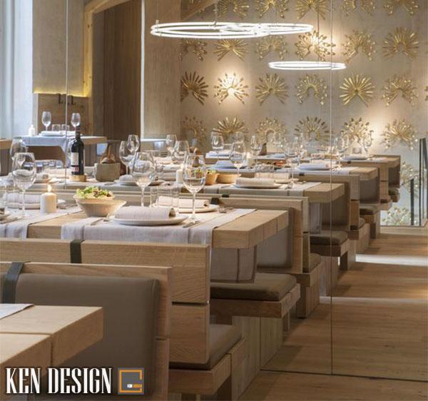 vai tro cua noi that trong thiet ke mau nha hang dep 2 - Vai trò của nội thất đối với thiết kế mẫu nhà hàng đẹp