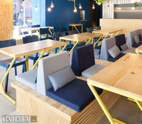 xu huong thiet ke noi that nha hang 2019 5 459x400 - Cập nhật ngay xu hướng thiết kế nội thất nhà hàng 2019