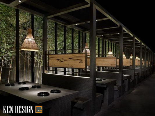 3 cach thiet ke noi that nha hang kieu nhat dung chuan 1 533x400 - 3 cách thiết kế nội thất nhà hàng kiểu Nhật đúng chuẩn