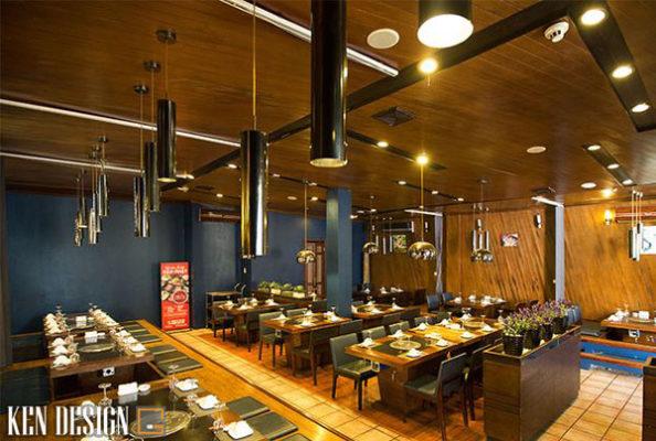 bi quyet thiet ke nha hang lau nuong hieu qua 6 594x400 - Bí quyết thiết kế nhà hàng lẩu nướng hiệu quả