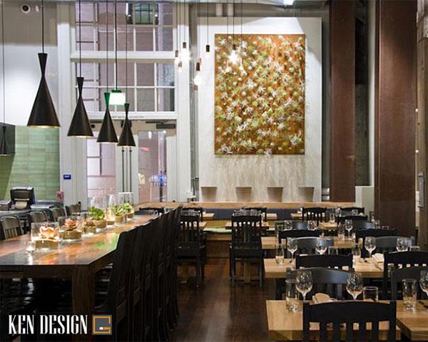 cach trang tri thiet ke nha hang bat mat 4 - Cách trang trí thiết kế nhà hàng bắt mắt