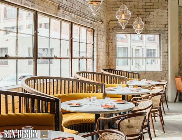 gia thiet ke noi that nha hang ban nen biet 1 - Yếu tố ảnh hưởng đến đơn giá thi công nội thất nhà hàng