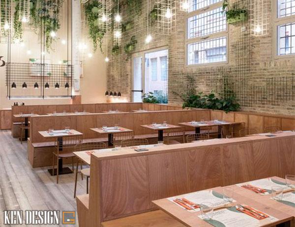 lam cach nao de thiet ke nha hang hien dai thu hut 4 - Làm sao để thiết kế nhà hàng hiện đại thu hút?