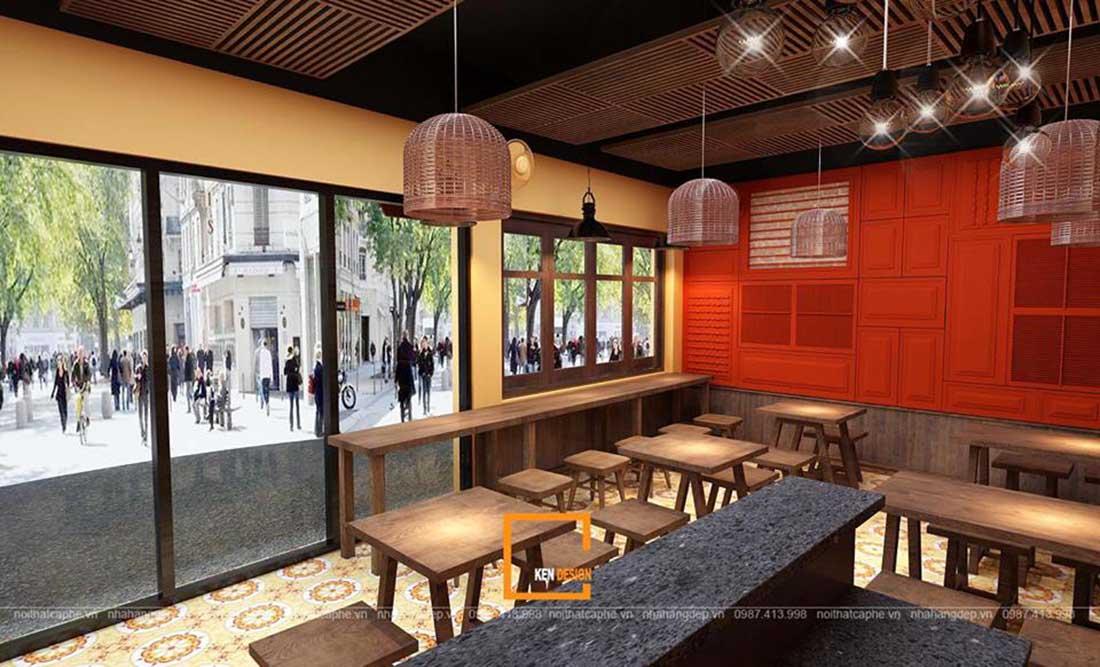 ngam ha thanh xua qua thiet ke nha hang pho suong 9 - Ngắm Hà Thành xưa qua thiết kế nhà hàng phở Sướng