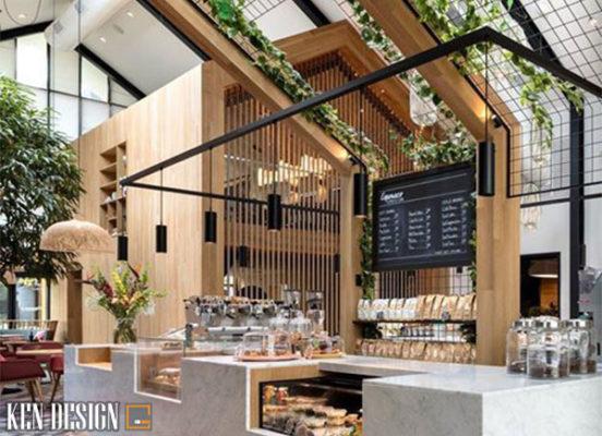 nhung luu khi thiet ke nha hang 5 552x400 - Những lưu ý khi thiết kế kiến trúc nhà hàng