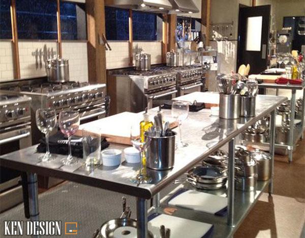 nhung luu y khi thi cong nha hang thiet bi bep 4 - Những lưu ý khi thi công thiết bị bếp nhà hàng