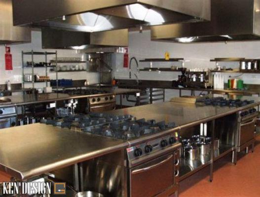 nhung luu y khi thi cong nha hang thiet bi bep 6 527x400 - Những lưu ý khi thi công thiết bị bếp nhà hàng