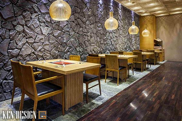 nhung mau thi cong noi that nha hang han quoc ban nen biet 2 - Những mẫu thi công nội thất nhà hàng Hàn Quốc ấn tượng bạn nên biết