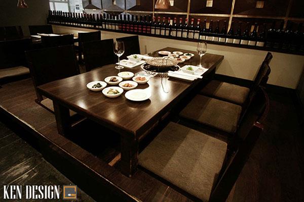 nhung mau thi cong noi that nha hang han quoc ban nen biet 3 - Những mẫu thi công nội thất nhà hàng Hàn Quốc ấn tượng bạn nên biết