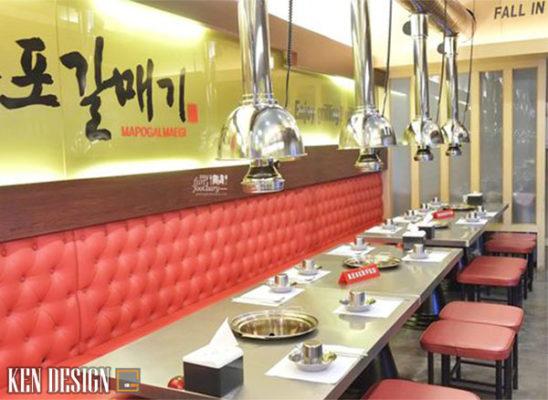 nhung phong cach thiet ke nha hang bbq noi tieng nhat 3 548x400 - Những phong cách thiết kế nhà hàng BBQ phổ biến nhất