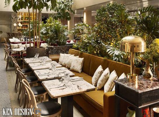 phuong phap thiet ke nha hang an uong phong cach san vuon an tuong 6 545x400 - Phương pháp thiết kế nhà hàng ăn uống phong cách sân vườn