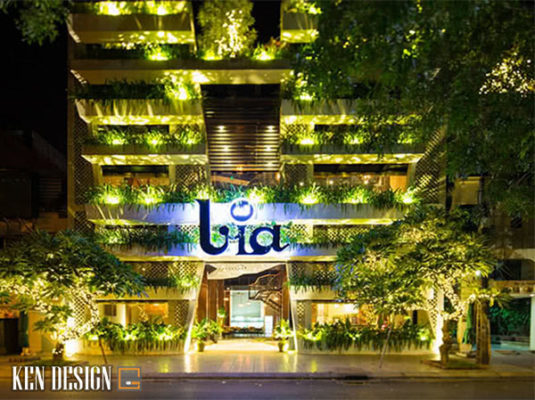 thiet ke kien truc nha hang 5 535x400 - Thiết kế kiến trúc nhà hàng đẹp mắt và thu hút