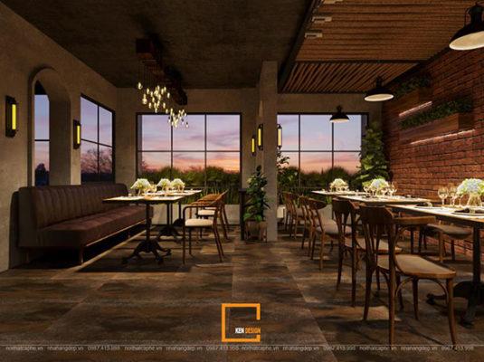 thiet ke nha hang beefsteak tai ho chi minh 2 535x400 - Thiết kế nhà hàng Topping Beef tại Tp. Hồ Chí Minh