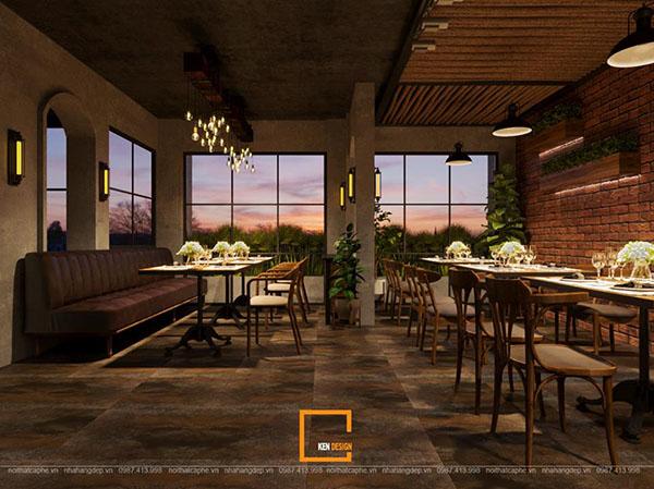 thiet ke nha hang beefsteak tai ho chi minh 2 - Thiết kế nhà hàng Topping Beef tại Tp. Hồ Chí Minh