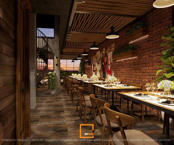 thiet ke nha hang beefsteak tai ho chi minh 4 - Thiết kế nhà hàng Topping Beef tại Tp. Hồ Chí Minh