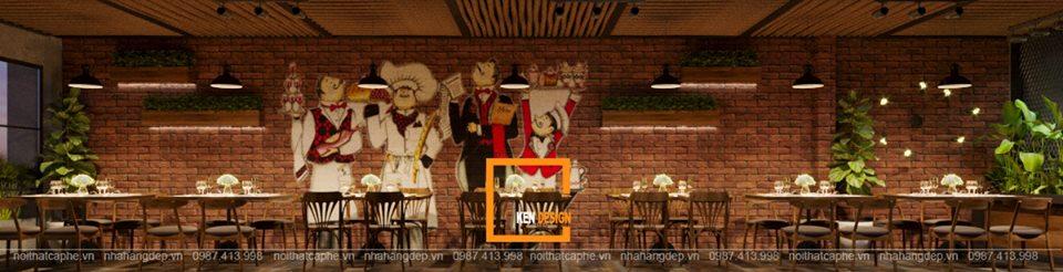 thiet ke nha hang beefsteak tai ho chi minh 5 - Thiết kế nhà hàng Topping Beef tại Tp. Hồ Chí Minh