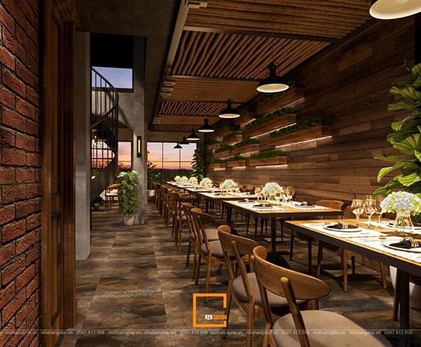 thiet ke nha hang beefsteak tai ho chi minh 7 - Thiết kế nhà hàng Topping Beef tại Tp. Hồ Chí Minh