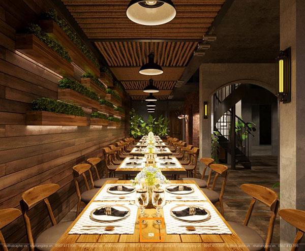 thiet ke nha hang beefsteak tai ho chi minh 8 - Thiết kế nhà hàng Topping Beef tại Tp. Hồ Chí Minh