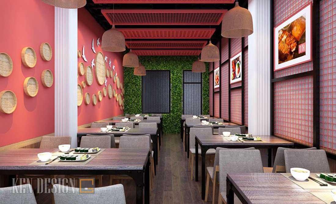 thiet ke nha hang vit quay to thi 10 - Thiết kế nhà hàng Vịt quay Tô thị