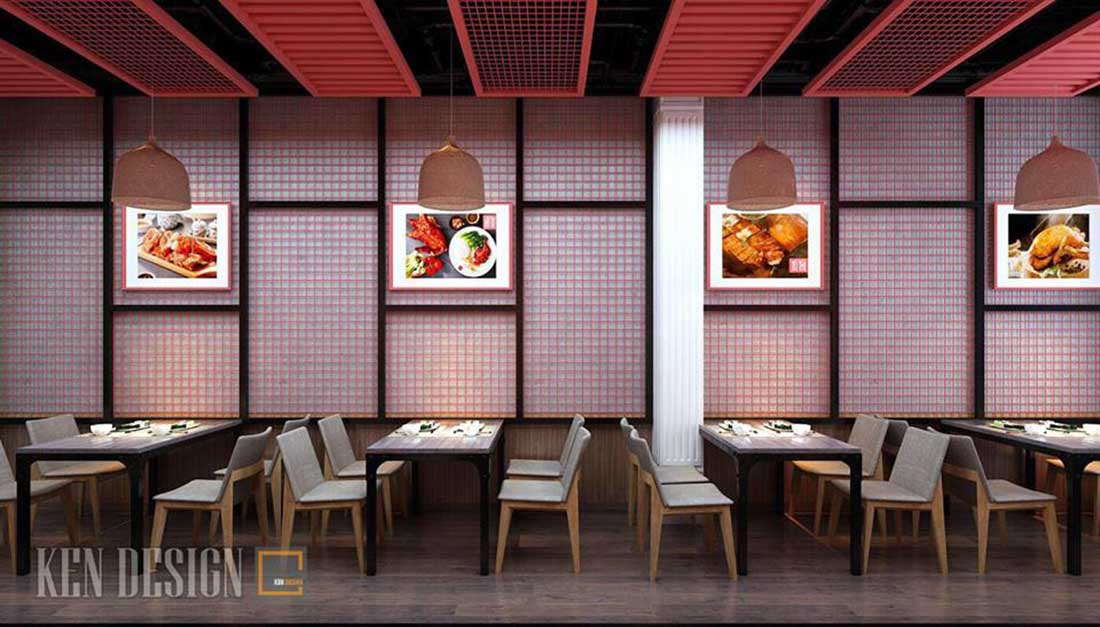 thiet ke nha hang vit quay to thi 2 - Thiết kế nhà hàng Vịt quay Tô thị