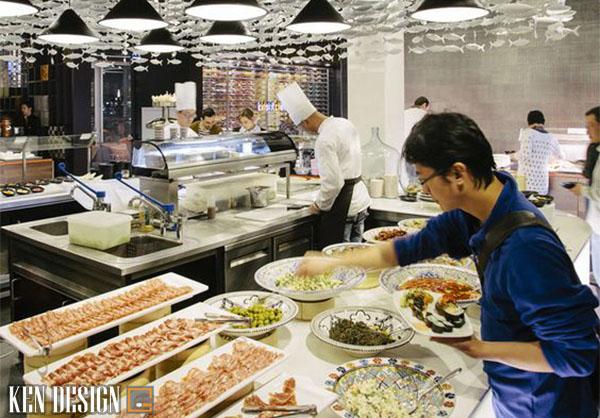 thu hut khach hang nho thi cong nha hang dung cach 2 - Thu hút khách hàng nhờ thi công nhà hàng buffet đúng cách