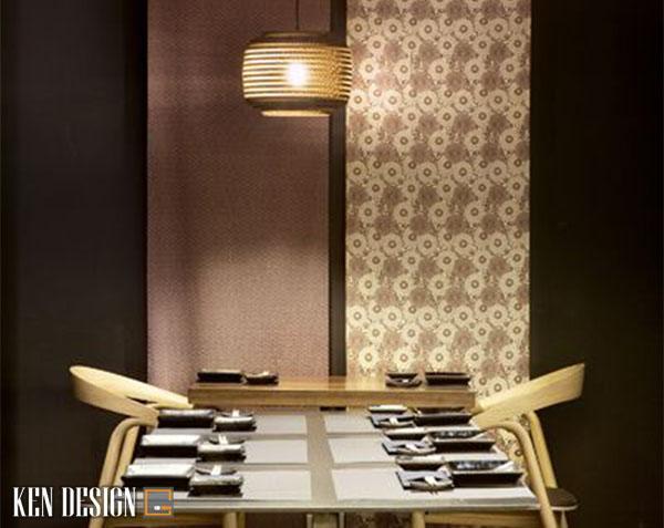 tieu chi thiet ke thi cong noi that nha hang kieu nhat hut khach 4 - Tiêu chí thiết kế thi công nội thất nhà hàng kiểu Nhật hút khách