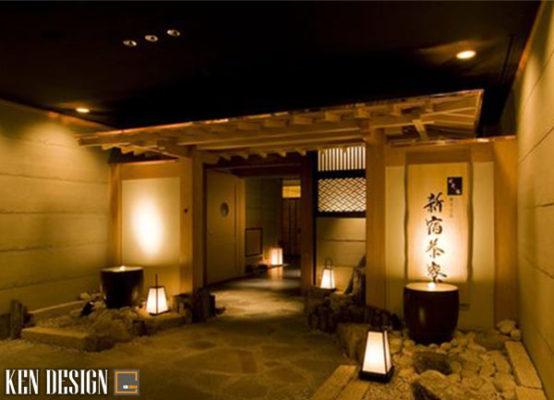 trang tri nhu the nao de lam noi bat thiet ke nha hang kieu Nhat 4 554x400 - Trang trí như thế nào để làm nổi bật thiết kế nhà hàng kiểu Nhật