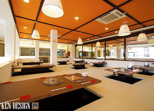 trang tri nhu the nao khi thiet nha hang lau nuong 4 - Cách trang trí thiết kế nhà hàng lẩu nướng bạn nên biết