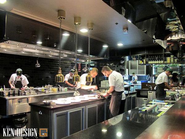 yeu to phong thuy trong thiet ke nha hang 4 - Yếu tố phong thủy khi thiết kế bếp nhà hàng