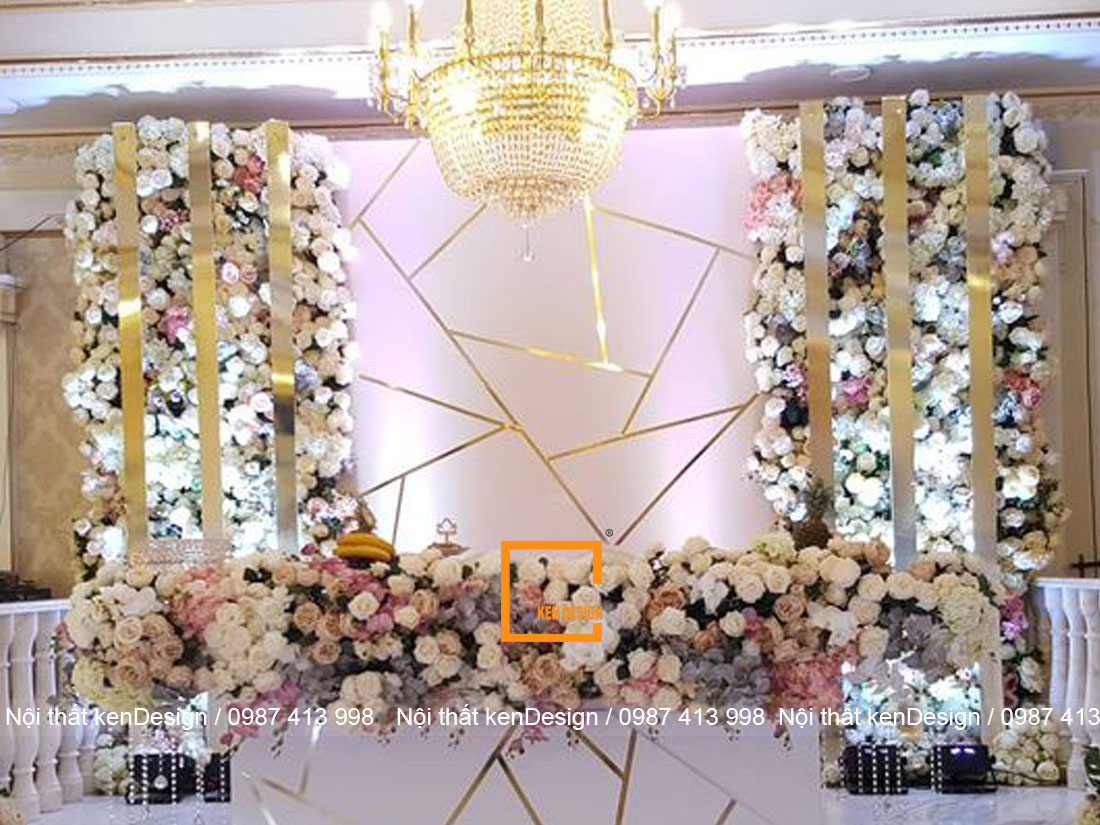 7 - Điểm danh các khu vực không thể bỏ qua khi thiết kế nhà hàng tiệc cưới