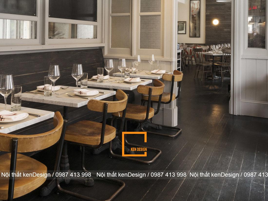 Art Deco Meets Industrial phong cach thiet ke nha hang an tuong 5 - Art Deco Meets Industrial  - Phong cách thiết kế nhà hàng ấn tượng