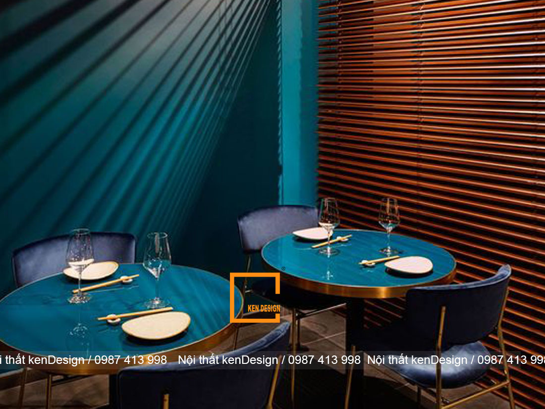 bat ngo voi vai tro cua mau sac trong thiet ke kien truc nha hang 5 - Vai trò của màu sắc trong thiết kế kiến trúc nhà hàng