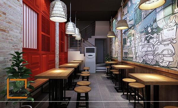 cac tieu chi lua chon don vi chuyen thiet ke nha hang 2 - Các tiêu chí lựa chọn đơn vị chuyên thiết kế nhà hàng