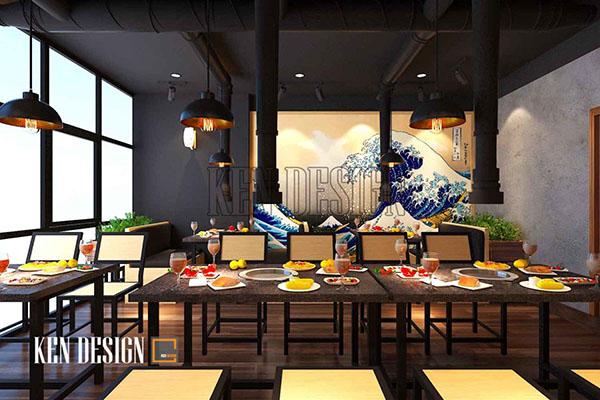 cac tieu chi lua chon don vi chuyen thiet ke nha hang 3 - Các tiêu chí lựa chọn đơn vị chuyên thiết kế nhà hàng