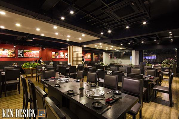 cach thiet ke nha hang lau nuong tiet kiem thoi gian 3 - Cách thiết kế nhà hàng lẩu nướng tiết kiệm thời gian