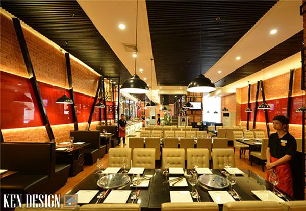 cach thiet ke nha hang lau nuong tiet kiem thoi gian 4 - Cách thiết kế nhà hàng lẩu nướng tiết kiệm thời gian
