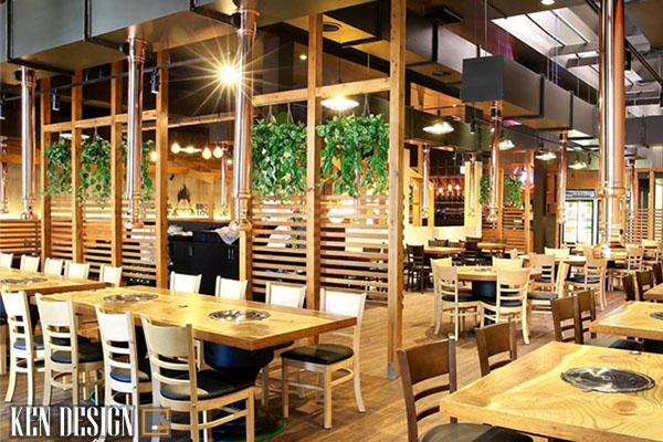cach thiet ke nha hang lau nuong tiet kiem thoi gian 6 - Cách thiết kế nhà hàng lẩu nướng tiết kiệm thời gian