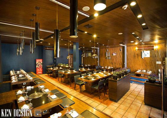cach thiet ke nha hang lau nuong tiet kiem thoi gian 7 566x400 - Cách thiết kế nhà hàng lẩu nướng tiết kiệm thời gian