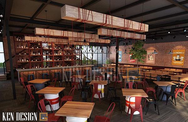 cong ty thiet ke thi cong noi that nha hang tai ha noi 4 - Công ty thiết kế thi công nội thất nhà hàng tại Hà Nội