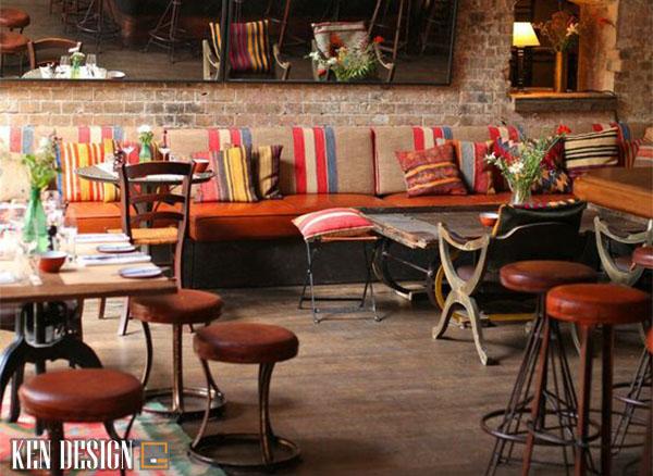 kinh nghiem thiet ke nha hang dac trung ban can biet 1 - Kinh nghiệm thiết kế nhà hàng đặc trưng theo phong cách