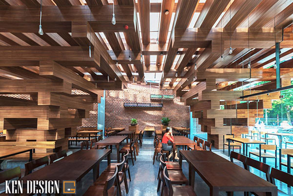 lam sao de thi cong kien truc nha hang 3 - Làm sao để có thể thi công kiến trúc nhà hàng hiệu quả?