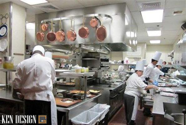 lam sao de thiet ke bep nha hang khach san hieu qua 3 596x400 - Làm sao để thiết kế bếp nhà hàng khách sạn hiệu quả