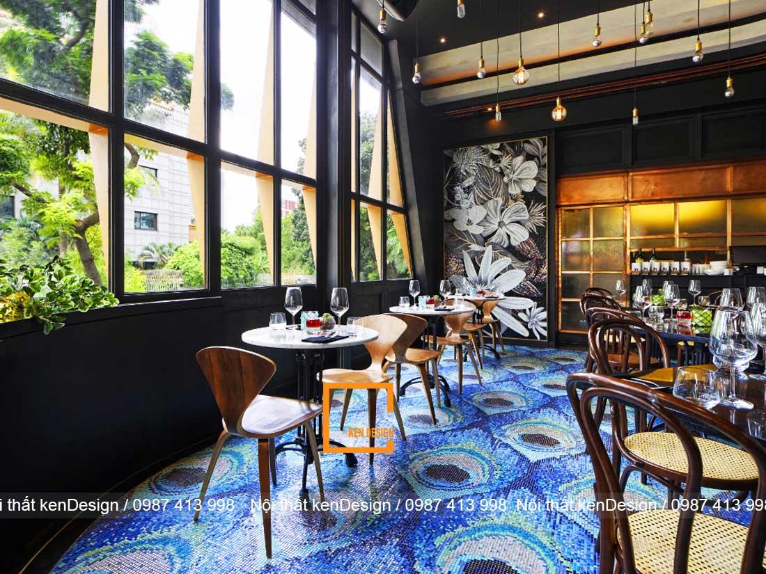 ngam nhin 4 thiet ke nha hang ann tuong khong the roi mat 1 - Ngắm nhìn 4 mẫu thiết kế nhà hàng ấn tượng không thể rời mắt