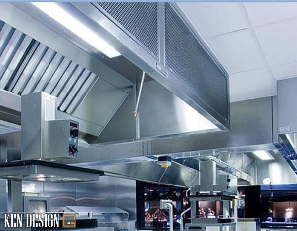 nguyen tac lap dat hut mui bep nha hang 1 - Nguyên tắc lắp đặt hút mùi bếp nhà hàng