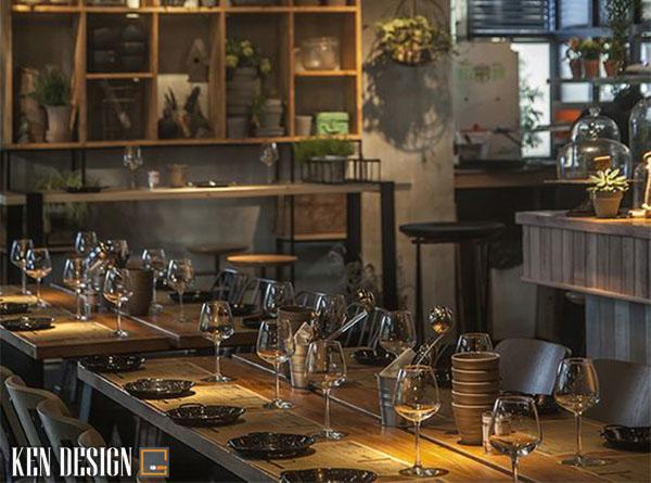 nhung yeu to anh huong den don gia thiet ke nha hang 2 - Những yếu tố ảnh hưởng đến đơn giá thiết kế nhà hàng