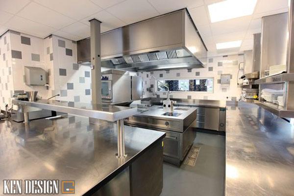 phuong phap thi cong thiet bi bep nha hang hieu qua 4 - Phương pháp thi công thiết bị bếp nhà hàng hiệu quả