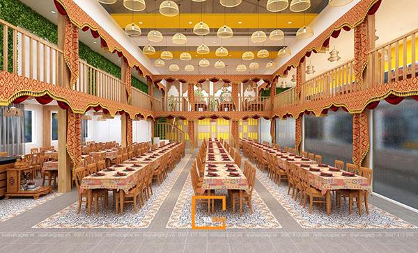 su ket hop doc la giua khong gian ca phe va thiet ke nha hang thai olan tai vinh phuc 13 - Thiết kế nhà hàng Thái Lan A Hản Thay cơ sở 2 tại Hà Nội