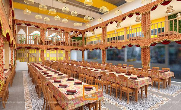 su ket hop doc la giua khong gian ca phe va thiet ke nha hang thai olan tai vinh phuc 15 - Thiết kế nhà hàng Thái Lan A Hản Thay cơ sở 2 tại Hà Nội