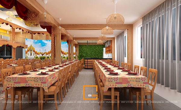 su ket hop doc la giua khong gian ca phe va thiet ke nha hang thai olan tai vinh phuc 2 - Thiết kế nhà hàng Thái Lan A Hản Thay cơ sở 2 tại Hà Nội